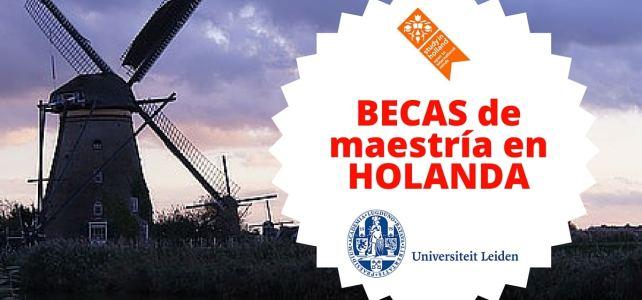 Becas para cursar maestrías en Holanda en la Universidad de Leiden