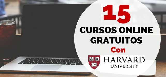 La Universidad de Harvard ofrece 15 cursos online gratuitos
