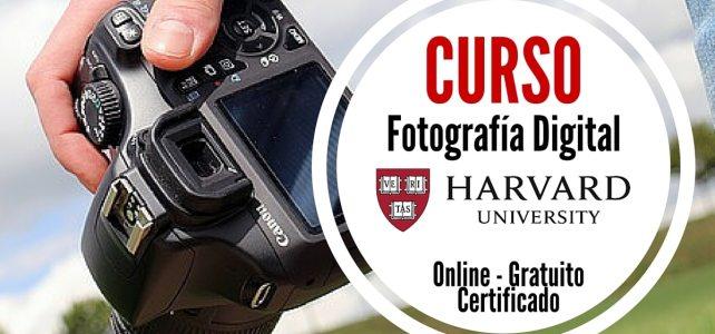 La Universidad de Harvard ofrece curso online gratuito de fotografía digital