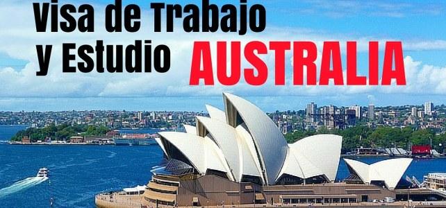 Instrucciones para conseguir una Visa de trabajo y estudio en Australia / Visa working Holiday