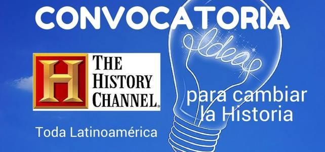Convocatoria de History Channel para innovadores