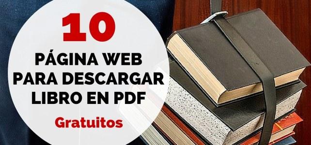 10 páginas web para descargar libros de forma gratuita