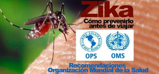 Cómo prevenir el virus del Zika antes de viajar