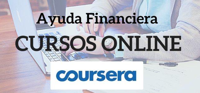 Ayudas financieras para obtener los certificados: cursos online Coursera