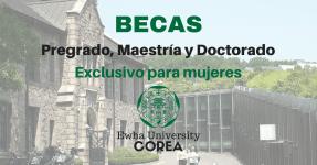 Becas para posgrados en Corea para mujeres latinoamericanas !