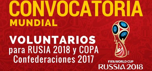 Únete al Programa de Voluntarios para la Copa Mundial de la FIFA Rusia 2018