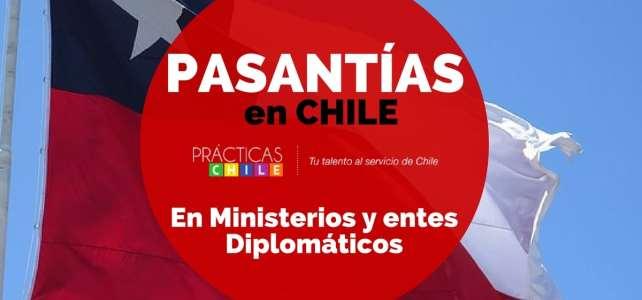 Prácticas profesionales en diferentes ministerios y organismos públicos en Chile