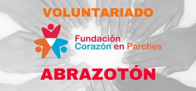 """Evento voluntario """"Abrazotón"""", una forma de cambiar el mundo"""