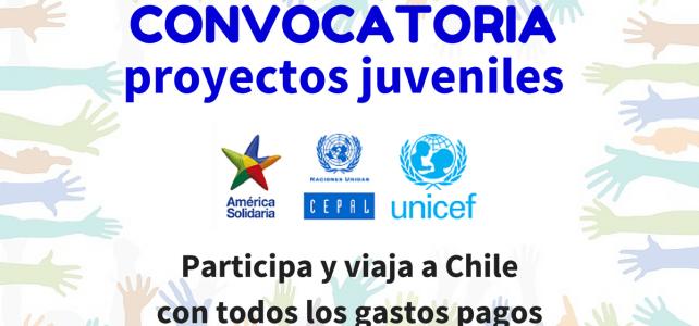 Convocatoria de la UNICEF para proyectos de transformación