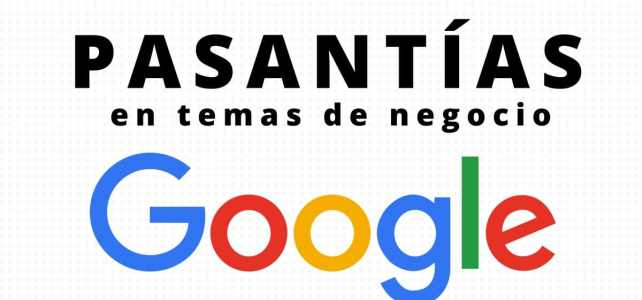 Prácticas en negocios con Google