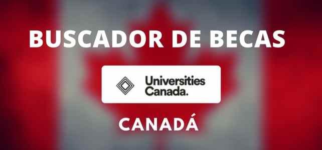Becas disponibles para estudiar becado en Canadá.