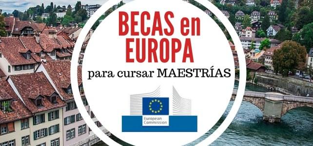 Becas Erasmus Mundus 2018 para cursar maestrías en Europa