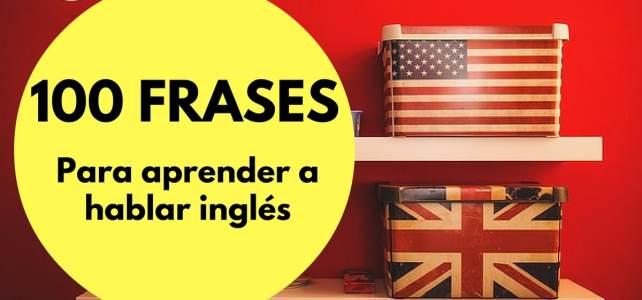 Las 100 mejores frases para aprender a hablar inglés