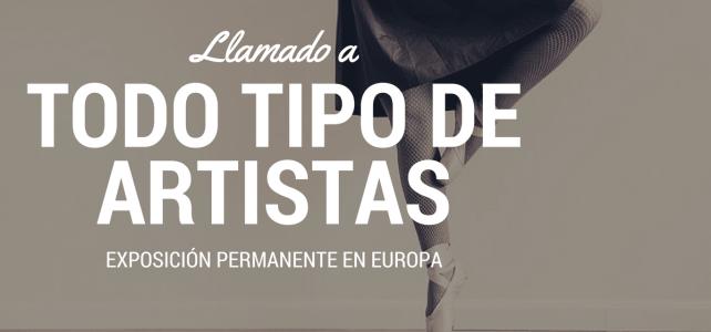 Convocatoria para artistas, Festival legados de la tierra en EUROPA