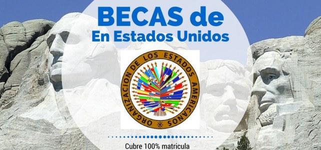 Becas de la OEA para estudiar posgrados en Estados Unidos