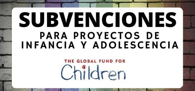Convocatoria Abierta para financiamiento de proyectos en infancia y adolescencia
