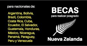 Becas New Zealand