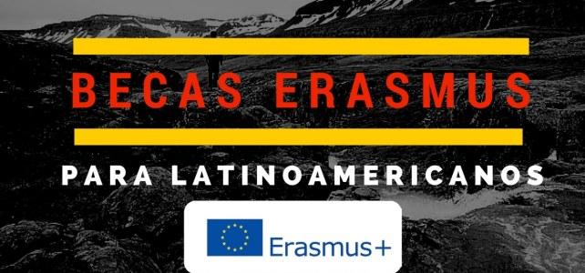 Programa de becas Erasmus+ en EUROPA para latinoamericanos