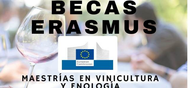 Becas Erasmus de la Unión Europea para cursar maestrías en vinicultura y enología