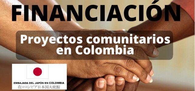 Convocatoria de la Embajada de Japón en Colombia para financiar proyectos comunitarios
