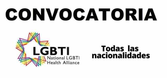 Convocatoria internacional con National LGBTI Health Alliance