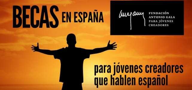 Becas en España para jóvenes creadores