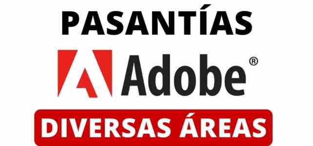 Prácticas profesionales pregrado y postgrado con Adobe
