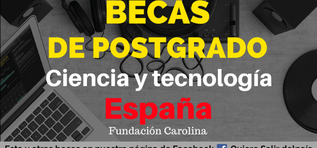 Becas de maestría en ciencia y tecnología en España