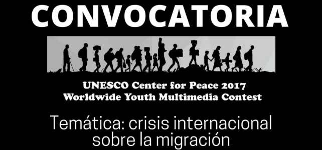 Convocatoria mundial para proyectos juveniles de multimedia con el Centro de la Unesco para la Paz