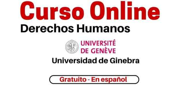 Curso online y gratuito sobre Derechos Humanos