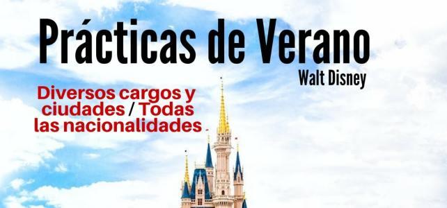 Convocatoria para prácticas de verano en Walt Disney Company