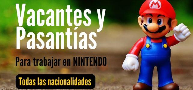 Te gusta Nintendo? que tal una pasantía o trabajar para ellos !