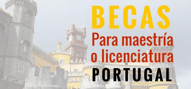 Becas para maestrías en Portugal