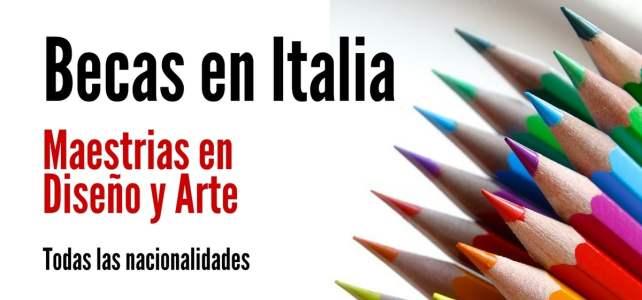 Becas en Italia para cursar posgrados en diversas áreas del diseño