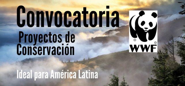 Convocatoria de la WWF para proyectos conservación en América Latina
