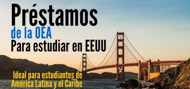 Estudia en Estados Unidos con préstamos de la OEA