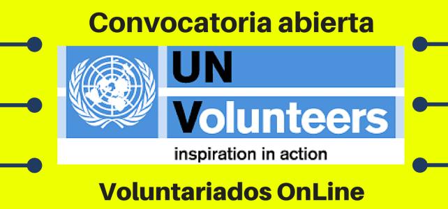 Convocatorias Voluntariado on line: Programa de Voluntarios de Naciones Unidas UNV