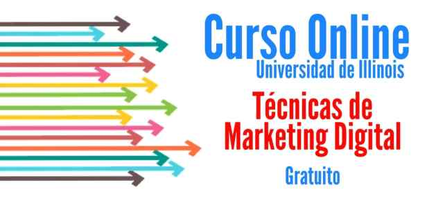 Cursos online y gratuitos sobre Técnicas de Marketing Digital