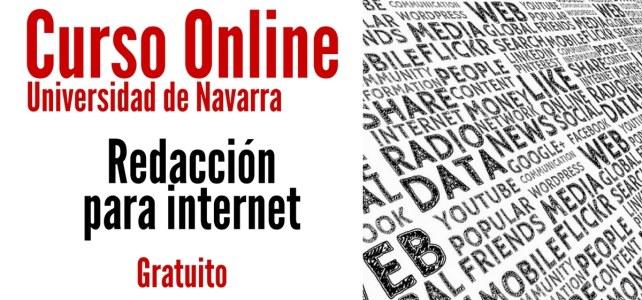 Curso online y gratuito de redacción para internet