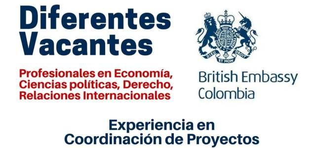 Nuevas oportunidades laborales con la Embajada de Reino Unido en Colombia