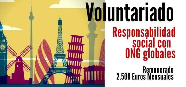 Voluntariados Remunerados alrededor del mundo.