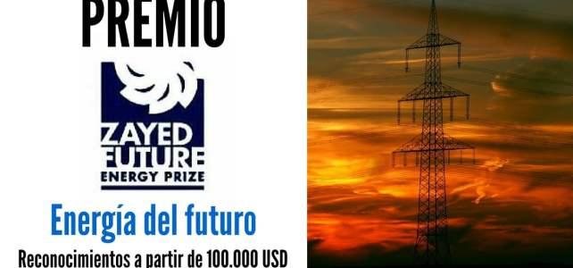 Convocatoria para premio Energía del Futuro