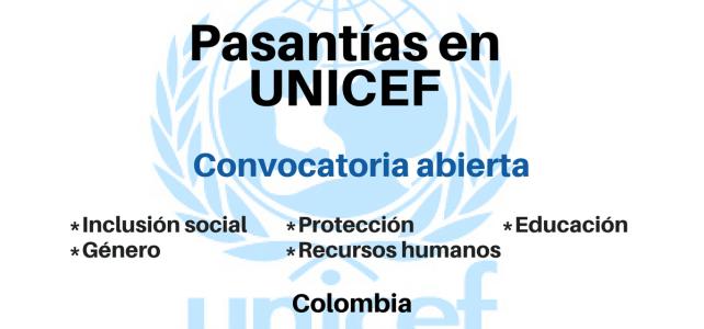 Pasantías en UNICEF