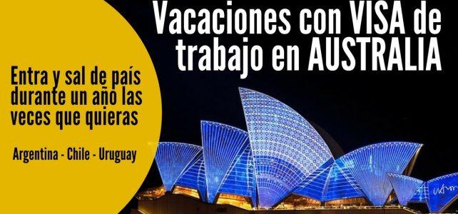 Convocatoria abierta: vacaciones con visa de trabajo en Australia!