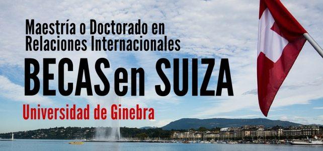 Becas para estudiar en Suiza en la Universidad de Ginebra