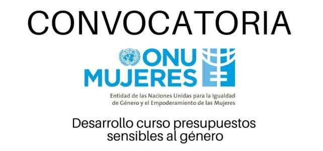 Convocatoria de ONU Mujeres en temas de géneroy educación