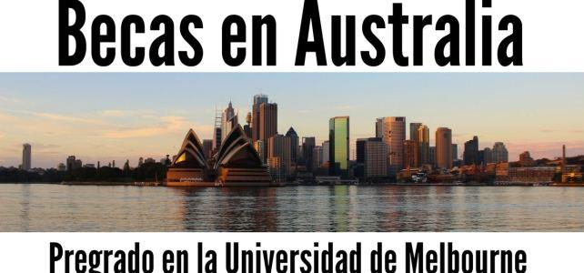 Becas de pregrado para estudiar en Australia