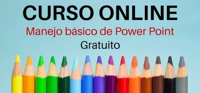 Videocurso online y gratuito sobre manejo básico de Power Point