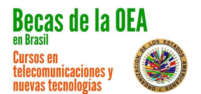 Becas OEA Citel para cursos en telecomunicaciones en Brasil