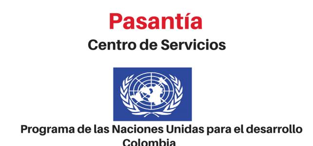 Pasantía Centro de Servicios de Naciones Unidas para profesionales en psicología